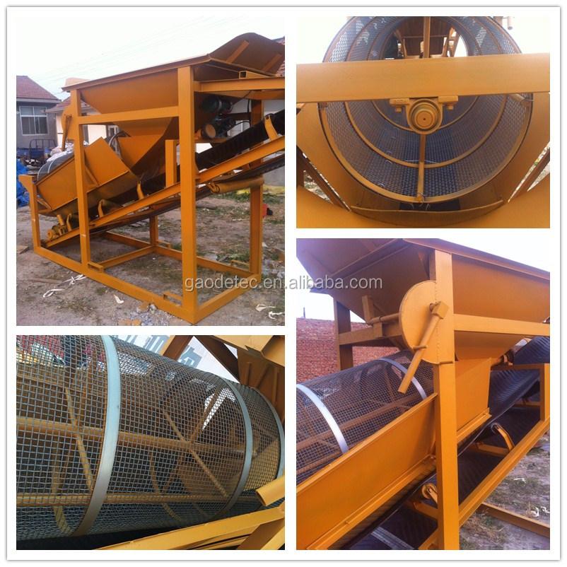 china leverancier roller zand screening machine te koop