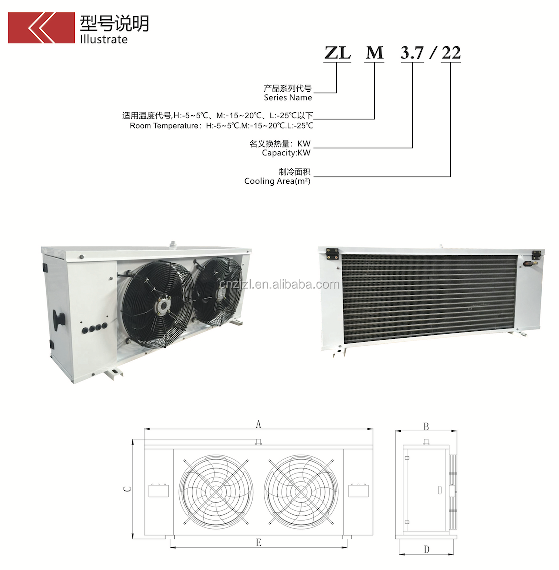 Heat Exchanger, Evaporator, Evaporative Air cooler