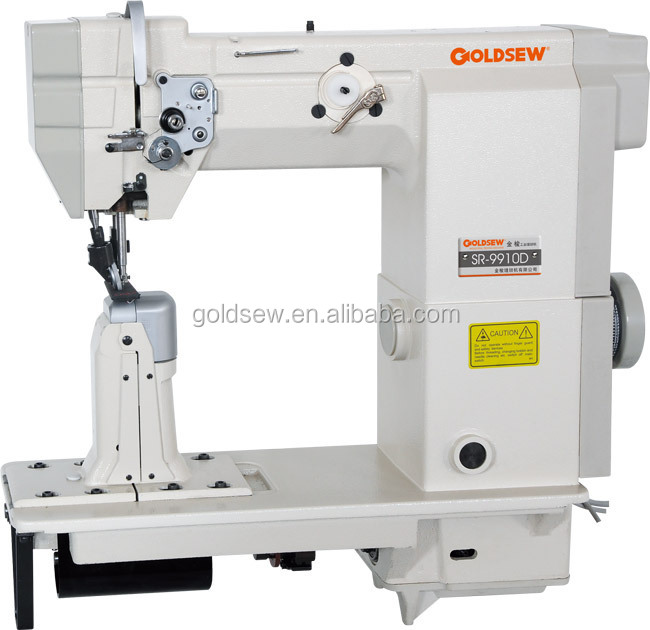 Sr-9920d Shoes Sewing Machine/double Needle Post Bed /direct ...