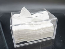 Modern Looking Royal Tissue Box Crystal Acrylic Napkin Box For Home Use