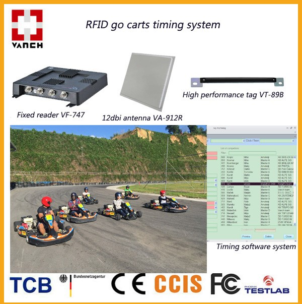 Rfid Karting Race Timing System Long Range Uhf Buy