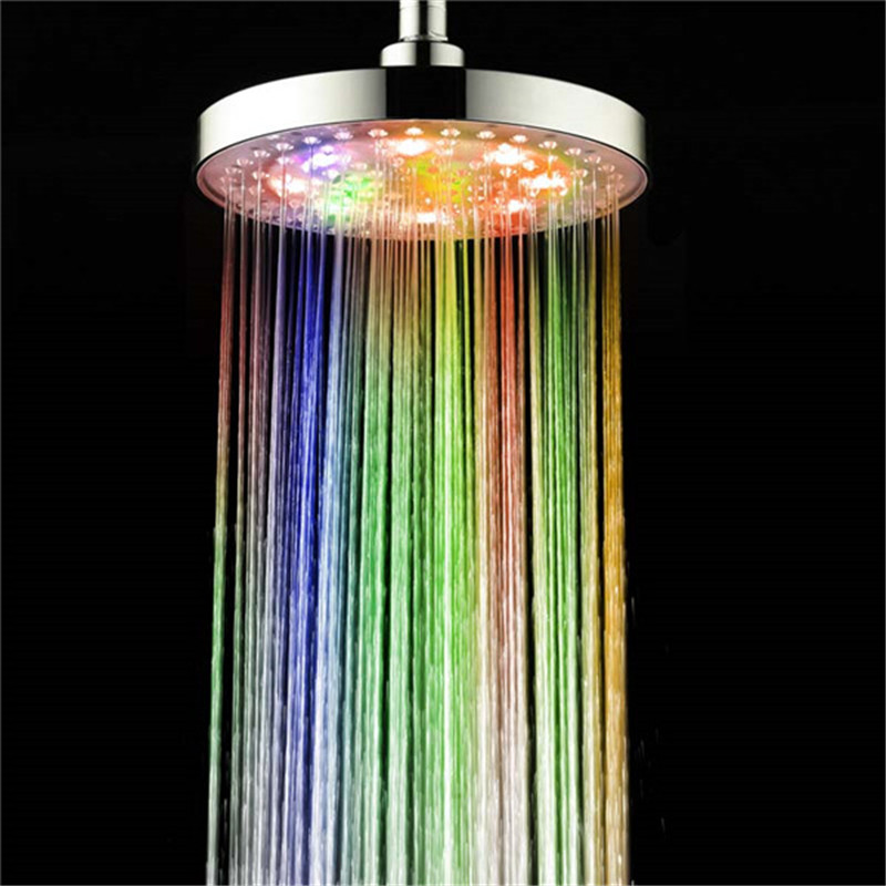 Great Led Shower Heads Color Changes Shower Faucet