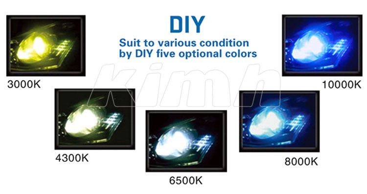 High Power Diy 5 Color Temperature 3s Auto Car Led Motorcycle ...