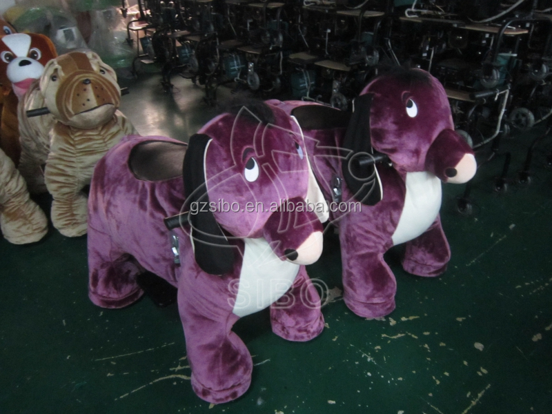 GM5918 2014 rocking horse kids animal rides toy riding horse moving toy horse