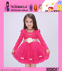 spring autum lace kids party wear dresses for girls lovely baby kids clothes girls dresses
