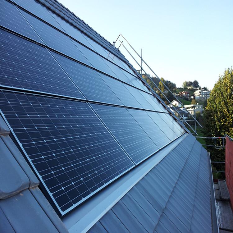 Grau superior China Fabricante 72 células Policristalino 420W Painel Solar de Tanfon