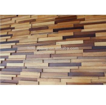 900x200x40mm Wooden Wall Decor Panel