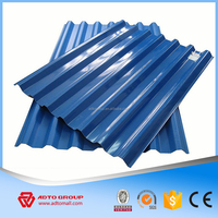 China supply galvanized ppgi corrugated metal roofing sheets