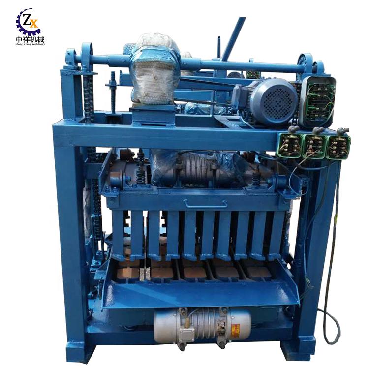 Zhongxiang sık kullanılan usa satılık beton blok yapma makinesi