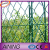 Zoo chain link fence/Chain link mesh (supplier)/galvanized used chain link fence for sale
