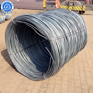 SAE 1006 SAE 1008 Hot Rolled Steel Wire Rod For Coils Steel Wire Specifications