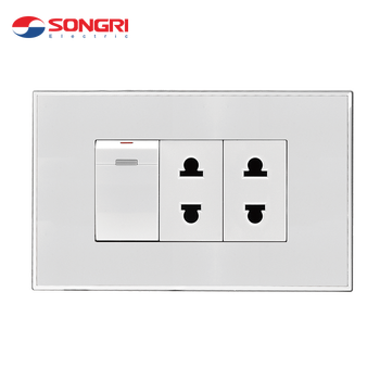 Songri Oem Pc Large Press Button Supplier Wall Electrical Switch