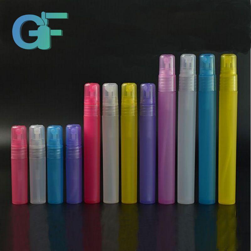 15 ml 30 ml 50 ml 100 mL perfume de cristal rectángulo botella de spray con negro del atomizador