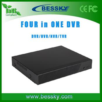 Hisilicon 1080h Hybrid Dvr,8ch H.264 Ahd / Tvr / Nvr / Dvr 4 In 1 ...