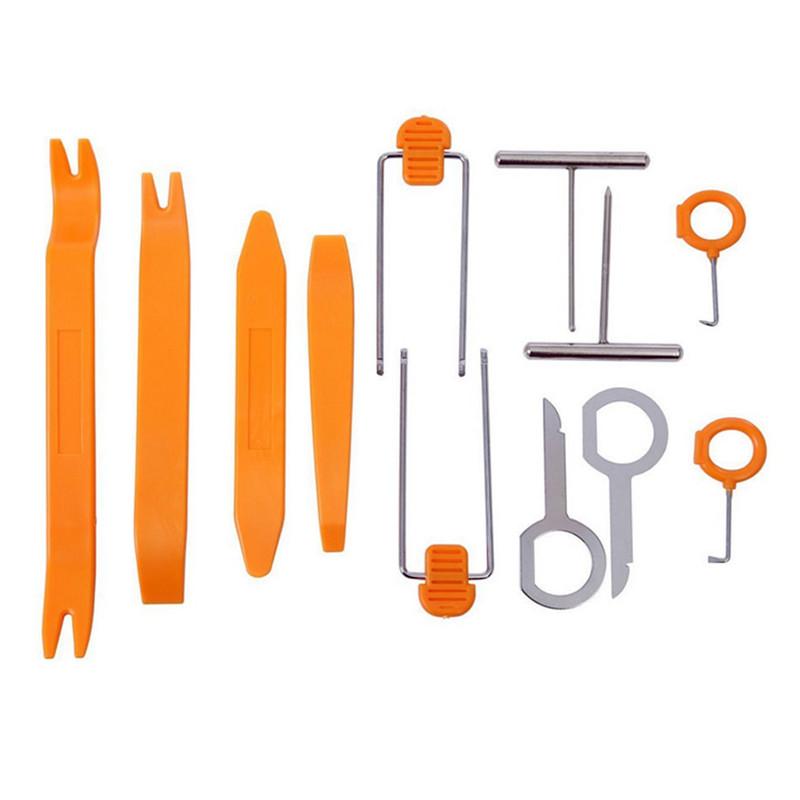 12 компл. установка модификация инструменты для автомобиля в панели приборов радио аудио установка удаление прай комплект бесплатная доставка в наличии