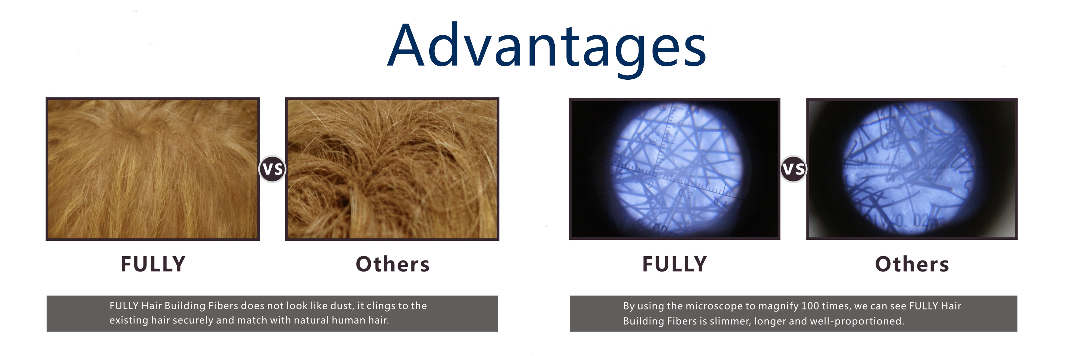 FDA keratin hair building fibers for hair  loss solution waterproof