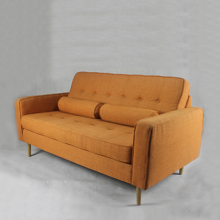 Triumph Modern Lounge Furniture Cheap Wooden Frame Upholstered Sofa with Cushion