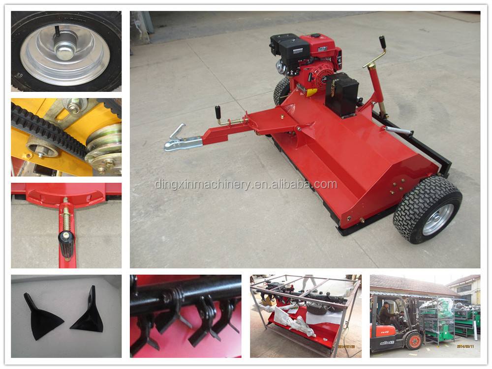 remote control flail mower for ATV