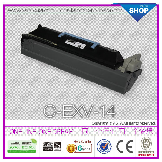 Compatible laser printer cartridge EXV14 for canon IR2016/2018 high quality