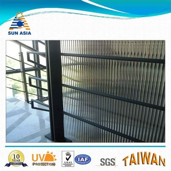 Colored Screen Blind Twinwall Polycarbonate Sheet - Buy ...
