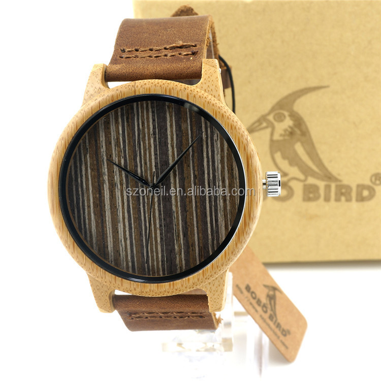 2016 Watch custom made brand logo dial quartz movt wooden watches