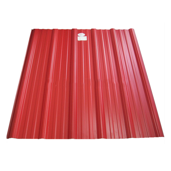 Best Size Color Coated Galvanized Roofing Sheet Corrugated