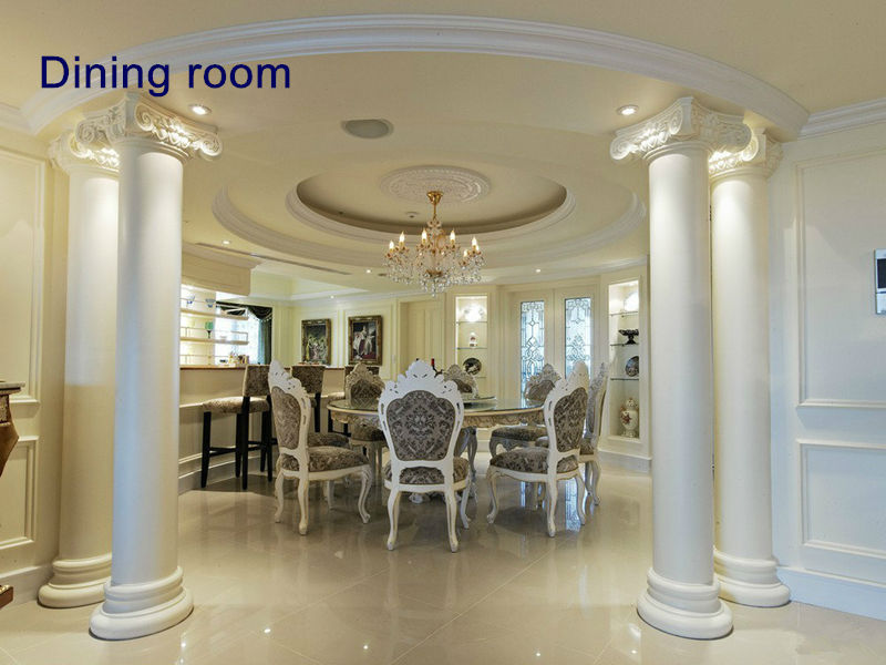 newest design polyurethane decoration pillar roman column hot sale lighted wedding columns