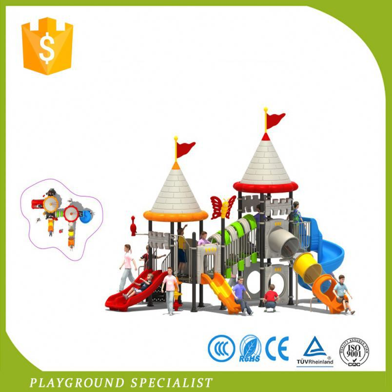 Children Playing Play Amusement Park Items Slide In School Equipments