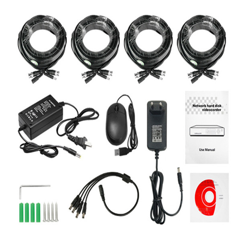 SS-DK-AHD4104 4 Channel CCTV Camera DVR Kit System New China Products For Sale