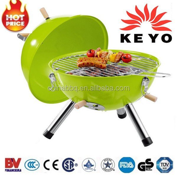 Portable Grill Wholesale Grill Camping Green Egg BBQ YH22014ZB