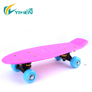 EN13613 durable Plastic fish skateboard wheels