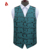 Fashion Wholesale 100% Polyester Wedding Vests Mens Waistcoat