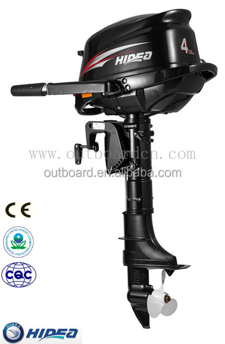 CE Approved 4hp Hidea Outboard Motor with Chinese Manufacturer