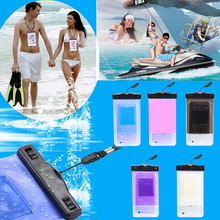 Amazon Top Sport Swimming Waterproof Pouch Case Bag,PVC Waterproof Outdoor Beach Bean Bag For Smart Phone
