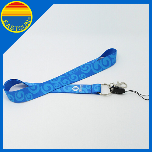 Eco friendly personalized logo lanyard mobile phone corde rope