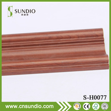 Hot Sale Wood Grain Color Wood Plastic Composite Frame Decorative Moulidng Line