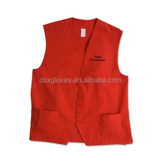 Jacket Smock Apron Mens Bartender Uniform Apron