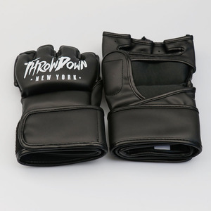 High Quality Professional Leather ufc MMA Grappling Gloves