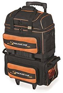 Get Quotations Storm Streamline 4 Ball Roller Bowling Bag Orange Black