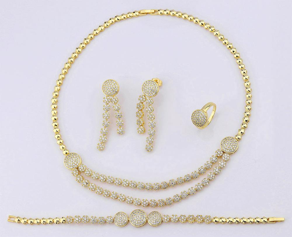 Wholesale Fashion 18k Gold Plated Copper Alloy Artificial ...