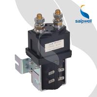 Saip Saipwell SZJW400A (SW200) 400A DC 12V 24V 36V 48V 72V Industrial Contactor China 400A Electrica DC Industrial Contactor