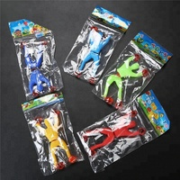 Small Sticky Man Climb On The Wall Children Toys Stick Man Bendy Toy Wall Climbing Man