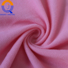 Jiangsu 100% polyester one side brushed loop velvet nylex fabric tricot fabric for sofa lining or shoes