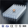 6mm polycarbonate hollow sheet/6mm twin wall hollow pc sheet/6mm hollow polycarbonate sheet