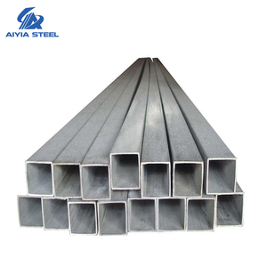 AIYIA hollow metal pipe gi tubes pipes hollow sections / square hollow steel pipe ss440 gi