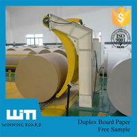 Recycled Pulp Style and Mechanical Pulp Pulping Type duplex Board