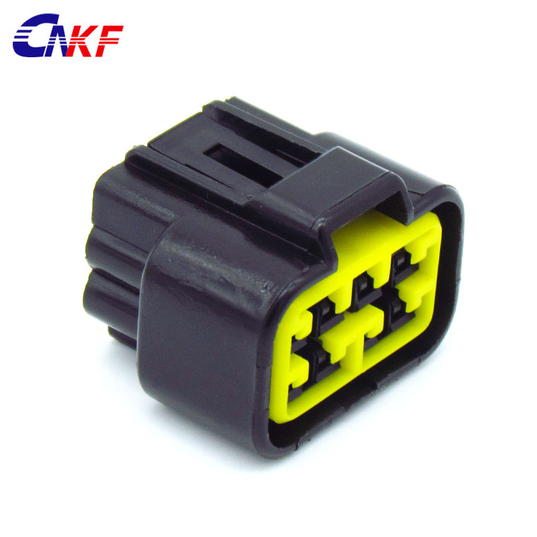 3P, Black CNKF 5 Sets DT 3 Way sealed Black male//female Waterproof Electrical Plug housing Wire Connector 22-16AWG DT04-3P DT06-3S