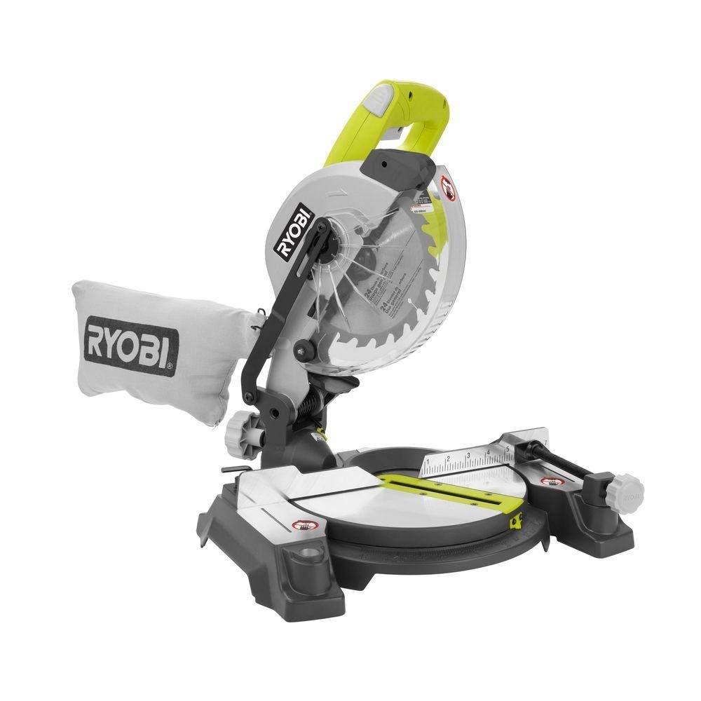 Ryobi 9 Amp 7-1/4 in. Compound Miter Saw with Laser