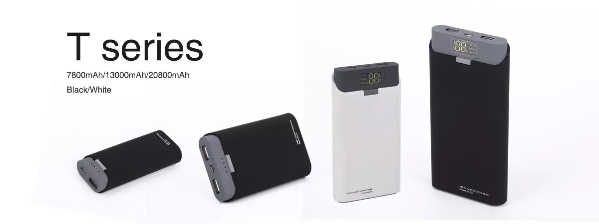 20000 mah Powerbank Sottile Rohs Portatile Banca Mobile di Potere
