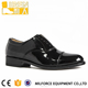 Liren-High gloss black police shoes oxford men